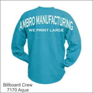 Billboard Crew Aqua