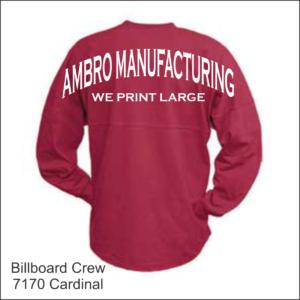 Billboard Crew Cardinal