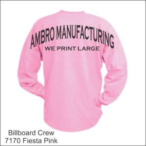 Billboard Crew Fiesta Pink