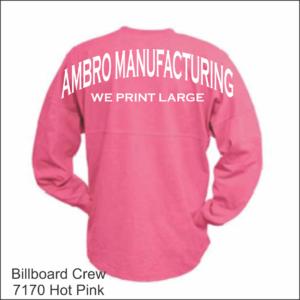 Billboard Crew Hot Pink