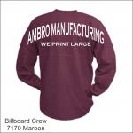 Billboard Crew Maroon