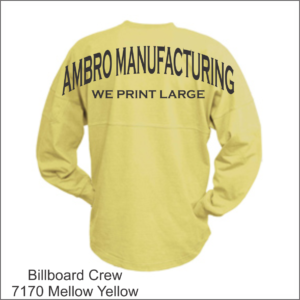 Billboard Crew Mellow Yellow