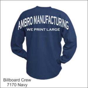 Billboard Crew Navy