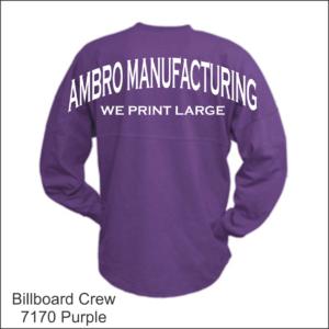 Billboard Crew Purple