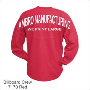 Billboard Crew Red