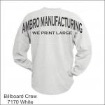 Billboard Crew White