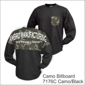 Camo Billboard Camo Black
