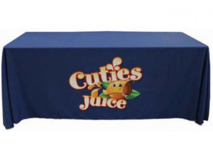 Table Cloth With Logo