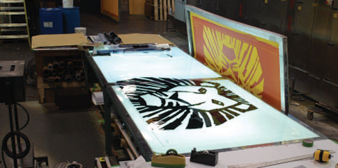 Image result for Large Format Screen Printing
