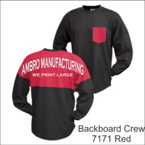 Backboard Crew Red