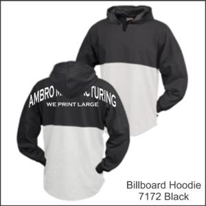 Billboard Hoodies Black