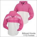 Billboard Hoodies Fuchsia