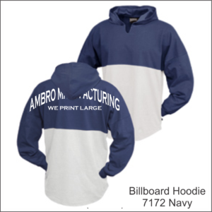 Billboard Hoodies Navy
