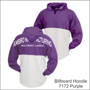 Billboard Hoodies Purple
