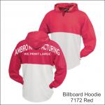 Billboard Hoodies Red