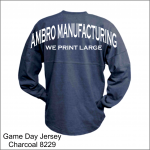 Game Day Jersey Charcoal