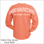 Game Day Jersey Coral