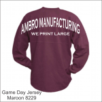 Game Day Jersey Maroon