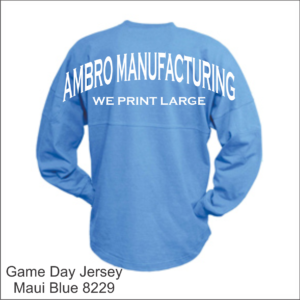 Game Day Jersey Maui Blue