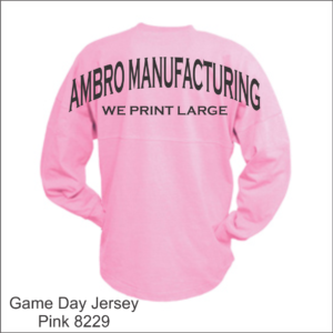 Game Day Jersey Pink