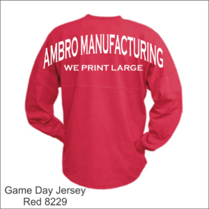 Game Day Jersey Red
