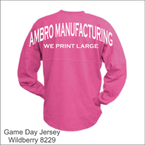 Game Day Jersey Wildberry