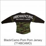 Pom Pom Jersey Camo