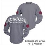 Scoreboard Crew Maroon
