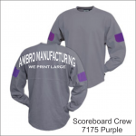 Scoreboard Crew Purple