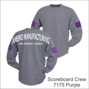 Scoreboard Crew Purple