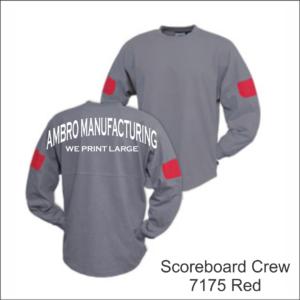 Scoreboard Crew Red