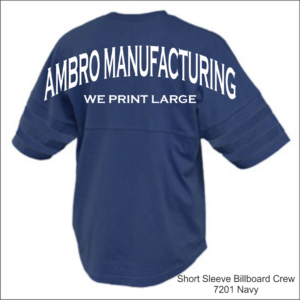 Short Sleeve Billboard Crew Navy