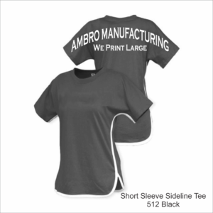 Short Sleeve Sideline Tee Black