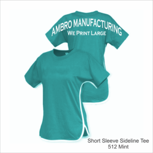 Short Sleeve Sideline Tee Mint