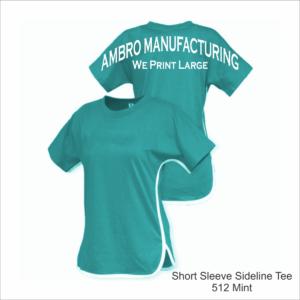 Short Sleeve Sideline Tee Mint