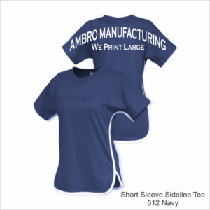 Short Sleeve Sideline Tee Navy