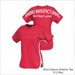 Short Sleeve Sideline Tee Red