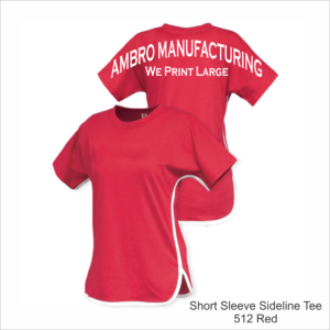 Short Sleeve Sideline Tee Red