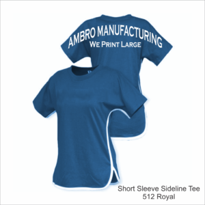 Short Sleeve Sideline Tee Royal