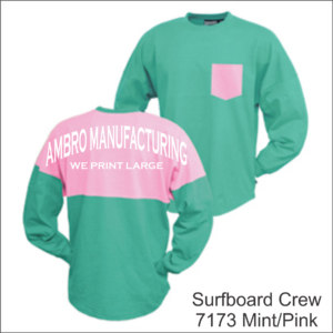 Surfboard Crew Mint Pink