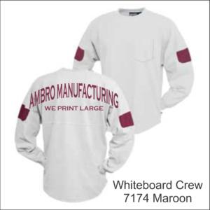 Whiteboard Crew Maroon