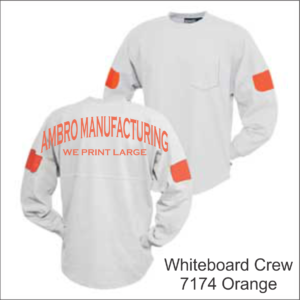 Whiteboard Crew Orange