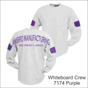 Whiteboard Crew Purple