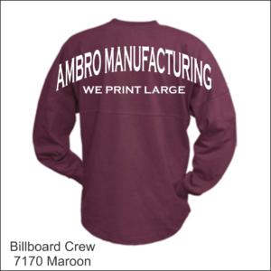Billboard Crew Shirts