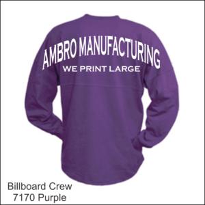 Billboard Crew Shirts Wholesale