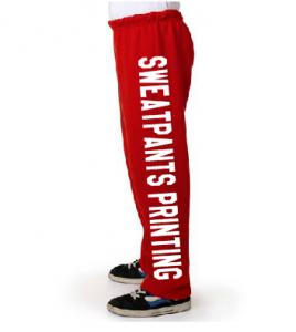 Sweatpants Printing