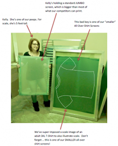 Large Screen Printing