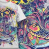 Water Based and Discharge Screen Printing on T-Shirts