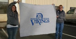Custom Promotional Stadium Blankets