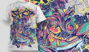 Discharge T Shirt Printing